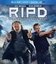 R.I.P.D. - Rest in Peace Department (2-Disc Blu-ray/DVD) with Slipcover!