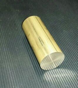 Messing MS58 Rundstab  Reststück Durchmesser Ø 32 mm Länge ca. 74 mm