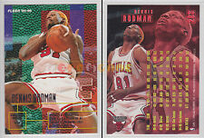 NBA FLEER 1995-1996 SERIES 2 - Dennis Rodman, Bulls # 283 - Mint