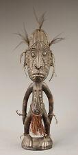 Statue d'ancêtre, mindimbit, art du sépik, papouasie NG
