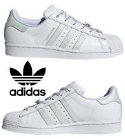 Adidas Originals Superstar Sneakers Women's Casual Shoes Running Walking White