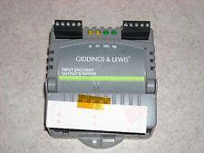 Giddings & Lewis Input Encoder/Output Stepper 503-25988-00