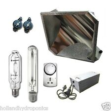 400W HPS MH Light lamps Magnetic Ballast diamond reflector Hydroponic Grow kits