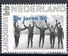 Nederland 2563-Aa-6 Nostalgie in postzegels de jaren 50 Elfstedentocht 1956