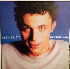 ALEX BRITTI - Mi Piaci (remix) - Vinile 12 Mix - 1999 -