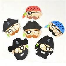 (24) FOAM PIRATE MASKS Kids Party Favor Costume Dress Up #ST44 Free Shipping