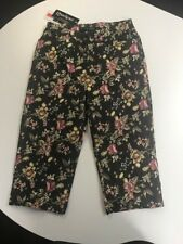 Blue, Red, Yellow Floral Pants