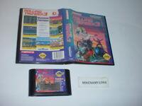 ROLLING THUNDER 3 game only in original case for Sega GENESIS system