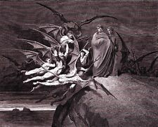 Print/Sell - Doré DANTE INFERNO PRINTS, ENGRAVINGS - (Images by Timecamera)
