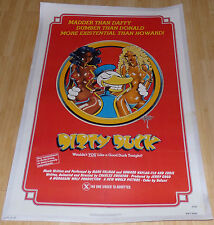 DIRTY DUCK 1974 ORIGINAL LINEN BACKED 1 SHEET MOVIE POSTER RICK GRIFFIN