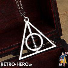 Harry Potter Halskette Magisches Dreieck Heiligtümer des Todes anhänger SILBER