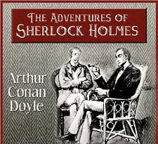 The Adventures of Sherlock Holmes all 12 Adventures Audio CD +free pdf copy