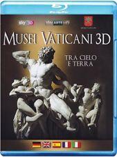 MUSEI VATICANI 3D (BLU-RAY 3D + 2D) DOCUMENTARIO SKY ARTE IN 3D