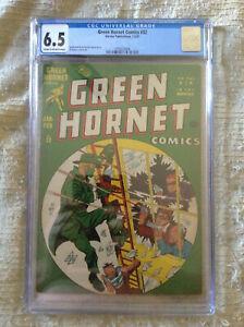 Green Hornet #32 CGC 6.5 **Al Avison Cover and Art** - Harvey Publications 1947