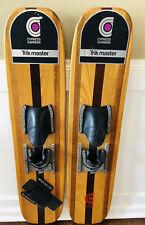 Cypress Gardens Trik Master Wood Water Skis Vintage