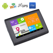 5'' Android Motorbike Car GPS Sat Nav Navigation 512M 8GB Waterproof FREE Map