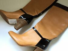 BNWOB J.CREW High Heeled Leather Boots Size 5.5