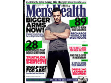 Men's Health Magazine November 2014,Luke Evans Dracula,FREE The Beginner's Guide