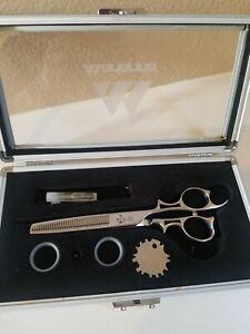 CLOSEOUT! Marianna Excalibur 01653 Thinning Shears with Case and Accessories NEW