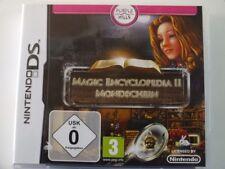 !!! NINTENDO DS gioco Magic Encyclopedia II Luna, usati ma ben!!!