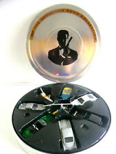 RARE CORGI DEFINITIVE BOND COLLECTION - EIGHT DIECAST VEHICLES IN FILM CANISTER!