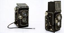 Vintage Collectors 1930's Foth-Flex 6x6 Twin-Lens TLR Camera Old Rare Germany