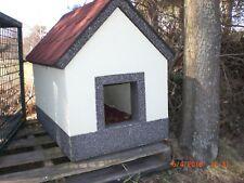 Hundehütte, b= 50cm, t= 80cm, h= 70cm, Material= Styropor, Eigenbau