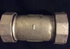 Galvanized Compression Coupling 1 inchf