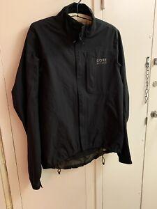 Gore Bike Wear, Waterproof Cycling Jacket, Black, Size Small