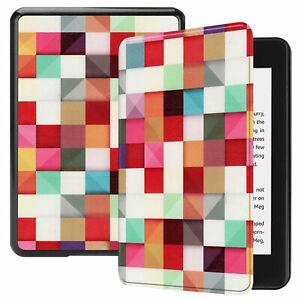 Art Ultra Thin Folio Case Cover for All-new Amazon Kindle (10th Gen
