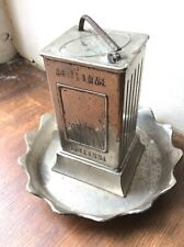 Rare Motor Petrol Advertising Cigarette French Ash Tray