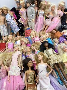 Huge Lot of Vintage Barbie Dolls  70s 80s 90s 2000s Plus Clothes Over 40!