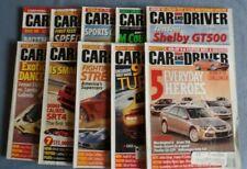 Lot Of 10 Car And Driver Magazines 2006 Acura Porsche Mosler MT900S Lamborghini