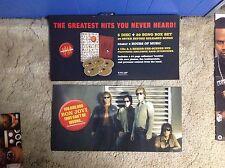 Rare! Original Bon Jovi Promo Poster 24x12 perforated album Cd Lp Music vintage