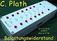C. PLATH BWR ERSATZLAST DUMMY LOAD Attenuator Belastungswiderstand Amateurfunk Y