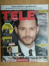 TOM HARDY on front cover TELE MAGAZYN 8/2020 Polish TV Magazine