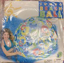 """Vintage inflatable Intex 48"""" Beachball NIP"""