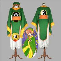 Cardcaptor Sakura Li Syaoran Cosplay Costume Full Set DGYER