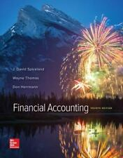 Financial Accounting 4th Edition Spiceland McGraw Hill NEW