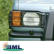 LAND ROVER DISCOVERY 2 FRONT PLASTIC LAMP GUARD. PART-  STC50026
