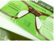 Par de almohadillas de nariz de Silicona Suave Stick En Gafas Gafas de Sol Anteojos Gafas