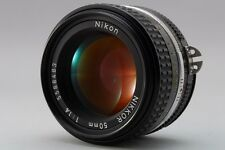 【Excellent+++++】 Nikon Nikkor Ai-s 50mm F1.4 F/1.4 MF AIS Lens From Japan #19
