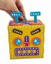 Fabriquez Votre Propre Robot Tirelire Mousse EVA Loisirs créatifs Kit de 3+
