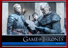 GAME OF THRONES - Season 6 - Card #23 - NO ONE B - Rittenhouse 2017