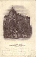 Washington DC Bancroft Hotel c1905 Postcard