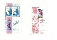 Brazil Stamp Souvenir Sheets Scott # 1060A & 1070A Mnh Fine Cond. Ctlg $39.95!