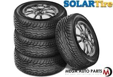 4 X New Solar 4XS 175/65/15 84V BLK SL All Season Performance Tires By Sumitomo