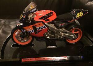 Guiloy 1:10 1/10 2003 Valentino Rossi 46 Repsol Honda RC211V Model Moto GP