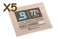 NEW Boveda 8 gram 72% Humidipack - 2 Way Humidity Control (5 x 8g)