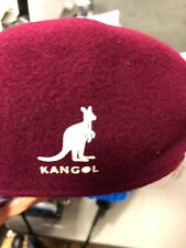 Kangol Wool  Hat /Cap  New Genuine/ORIGINAL BURGUNDY